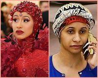 5 Momen Cardi B Tak Pakai Makeup, Wajahnya Tak Lagi Dikenali
