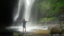 Air Terjun Cantik di Balik Kawasan Industri Cianjur