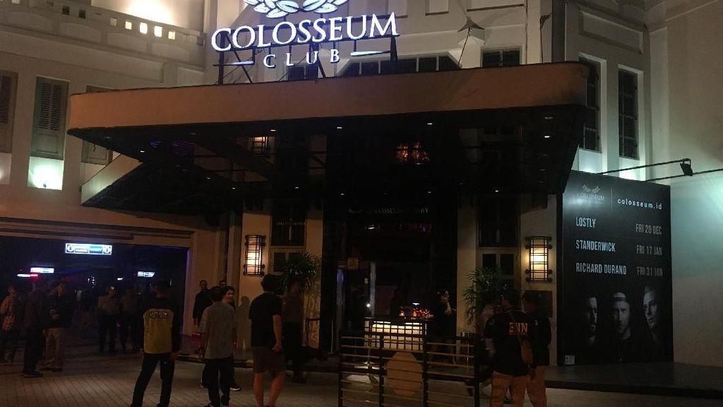 Manajemen Colosseum Apresiasi Razia Polisi dan BNN DKI