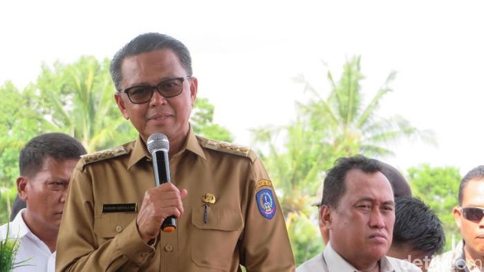 Gubernur Sulsel Nudin Abdullah (Noval-detikcom)
