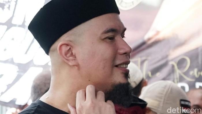 Ahmad Dhani saat ditemui di kediamannya di kawasan Pondok Indah, Jakarta Selatan.