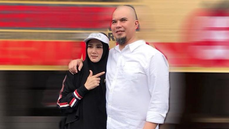 Mulan Jameela dan Ahmad Dhani Foto: Dok. Instagram/mulanjameela1