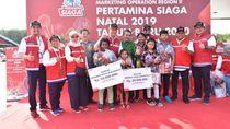 Pertamina Berikan Bantuan Rp 100 Juta ke Panti Asuhan Lampung