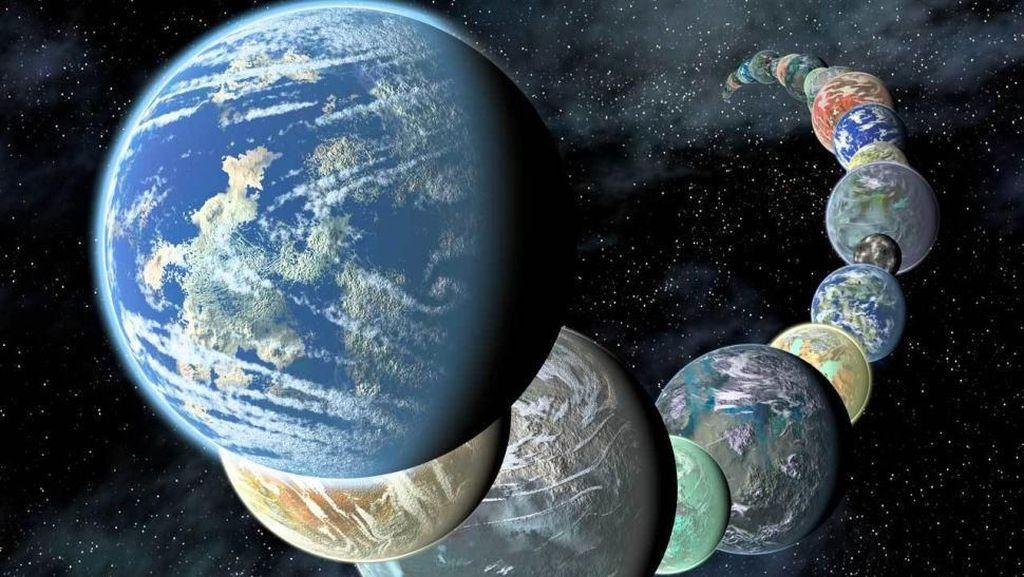 Pengumuman NASA: 2.200 Calon Planet Layak Huni Ditemukan