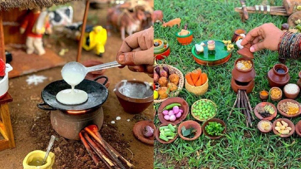 Keren! Pasangan Ini Jago Masak Makanan India Serba Mungil