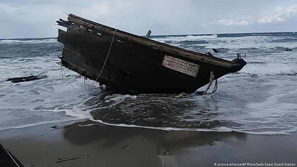 Jepang Temukan Jasad dalam Kapal Hantu Diduga Berasal dari Korea Utara