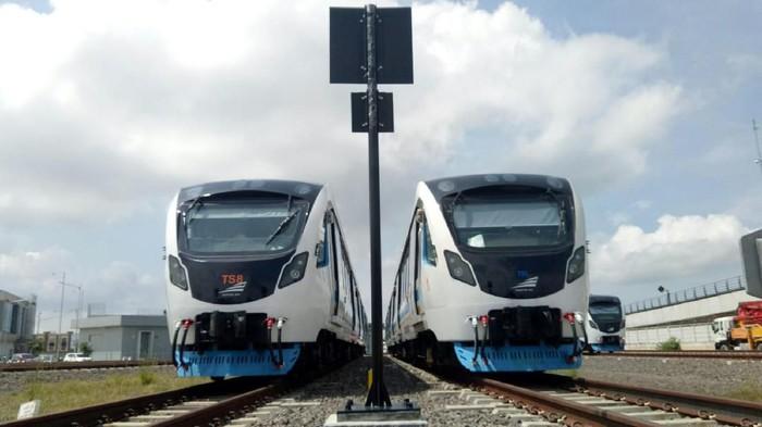 Light Rail Trainset (LRT) Palembang.
