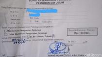 Harga Psikotes Saat Bikin SIM di Pekanbaru Rp 100 Ribu Dikeluhkan Warga