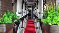 Penumpang Surabaya-Jakarta kini bisa merasakan perjalanan sambil tiduran layaknya dalam kabin first Class di pesawat. Foto:Istimewa
