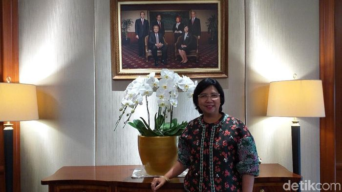 Foto: Deputi Gubernur BI Destry Damayanti (Sylke Febrina Laucereno)
