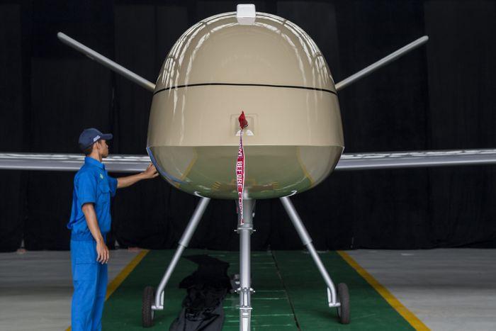 Prototipe Puna Male pertama ini mampu terbang selama 24-30 jam dengan ketinggian jelajah 3.000 hingga 6.000 meter yang diperuntukan mengawasi wilayah NKRI dari ancaman daerah perbatasan, terorisme, penyelundupan, pembajakan serta pencurian sumber daya alam.