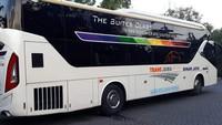 Bus ini diklaim bakal menyajikan kenyamanan kelas atas. Foto:Istimewa