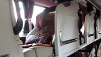 Bahkan saking nyamannya, bus ini disebut mirip hotel kapsul berjalan. Foto:Istimewa