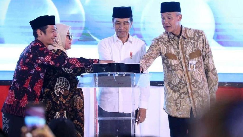 Jokowi Resmikan BLK di Kendal