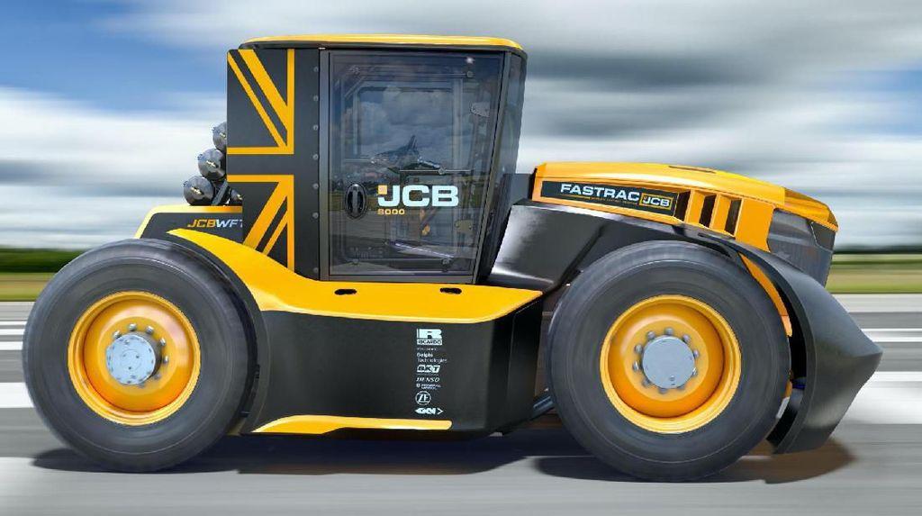 Rekor Traktor Tercepat, Bisa Lari Lebih dari 200 Km/jam