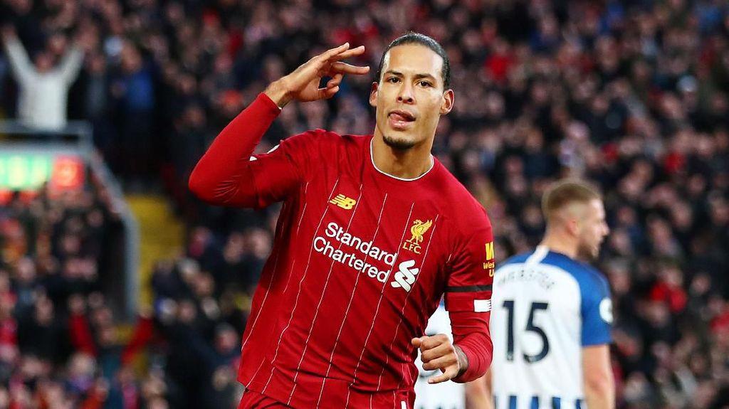 Masa Sih Van Dijk Cuma Beruntung di Premier League?