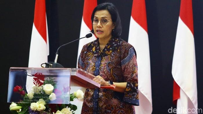 Perdagangan saham tahunan 2019 resmi ditutup. Seremonial penutupan perdagangan saham itu dilakukan oleh Menteri Keuangan Sri Mulyani Indrawati.