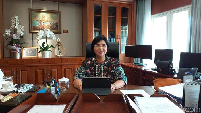 Deputi Gubernur BI Destry Damayanti (Sylke Febrina Laucereno)