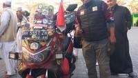 Rider NMAX yang Touring ke Mekkah Kini Riding Antarkota