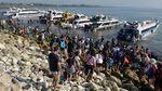 Libur Tahun Baru, Wisatawan Padati Nusa Penida Bali