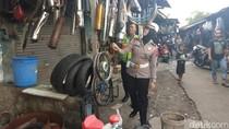 Polisi Sidoarjo Berlakukan Tilang Bagi Pemotor Pakai Knalpot Brong
