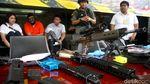 Potret Senjata Api-Granat Milik Pengusaha Koboi Lamborghini
