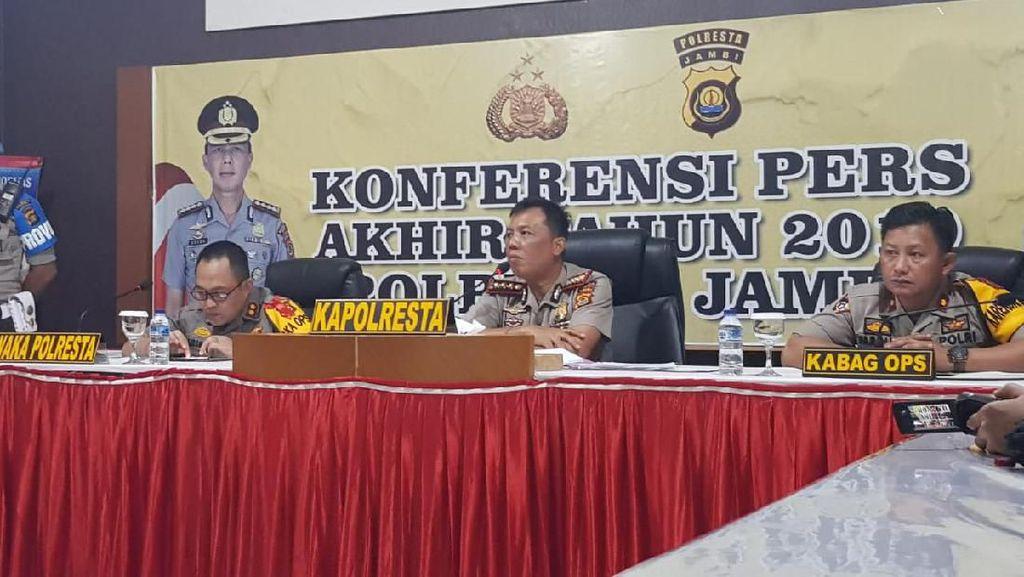 Kapolresta Jambi: 3 Polisi Dipecat karena Kasus Narkoba Selama 2019
