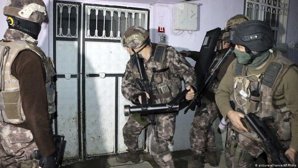 Turki Tangkap 70 Orang Terduga Militan ISIS
