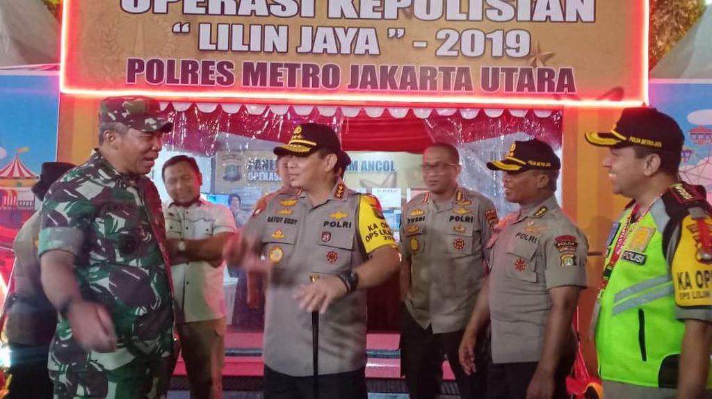 Kapolda Metro-Pangdam Jaya Cek Pengamanan Tahun Baru di Ancol