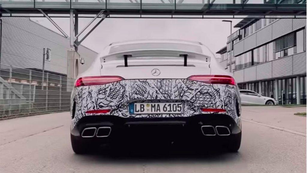 Super Sedan Mercedes-AMG GT 73 Meluncur Tahun Depan