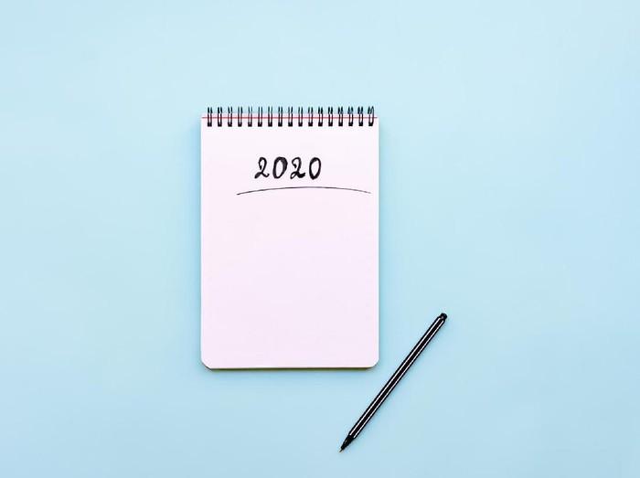 Resolusi 2020. Foto: iStock