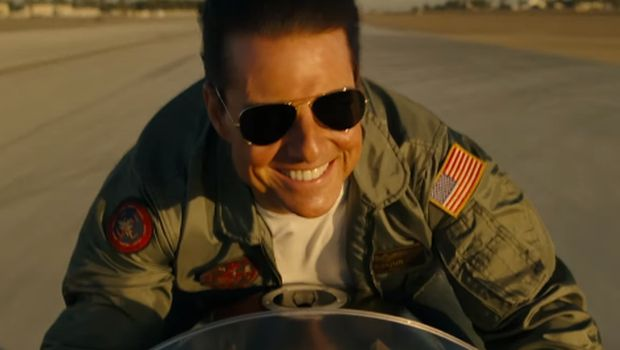 Tom Cruise Beraksi Geber Kawasaki H2 di Film Top Gun