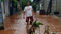 Sempat 70 Cm, Banjir di Bukit Pamulang Indah Tangsel Mulai Surut
