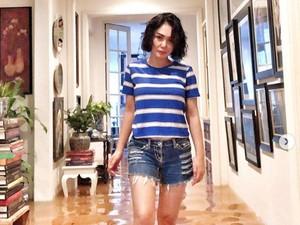 Gaya Yuni Shara Kebanjiran Bikin Salfok, Pakai Boots Burberry