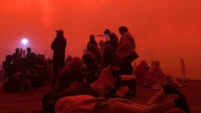 Kebakaran hutan di Australia (ABC Australia)