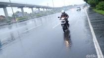 Pinang Ranti Banjir, Sepeda Motor Diperbolehkan Masuk Tol Taman Mini