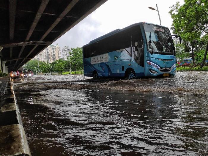 Banjir Jakarta di Tahun Baru 2020. Foto: Pradita Utama