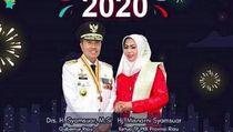 Polemik Gambar Kembang Api di Ucapan Tahun Baru Gubernur Riau