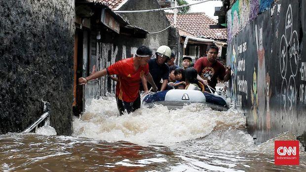 Jokowi: Banjir Jakarta karena Kerusakan Ekologi