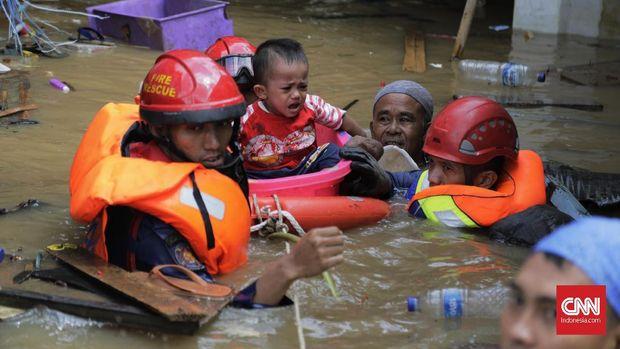 BNPB Catat Korban Meninggal Akibat Banjir Jadi 53 Orang