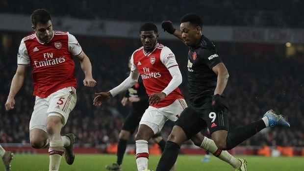 Klasemen Liga Inggris Usai Arsenal Taklukkan MU