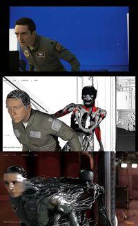 Spesial efek di Terminator: Dark Fate.