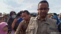 Anies akan Data Tanggul Retak di Jakarta Bareng Menteri Basuki