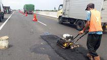Perbaikan Lubang di Tol Pemalang-Batang Ditargetkan Rampung Besok