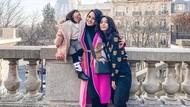 12 Foto Bahagia Artis yang Liburan Tahun Baru di Luar Negeri