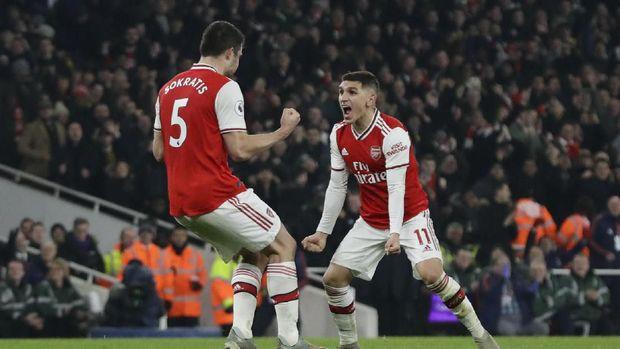 6 Fakta Menarik Usai Arsenal Bungkam MU
