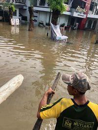 Pak Anies, Banjir di Taman Ratu dan sekitarnya Belum Surut