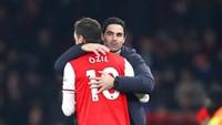 Oezil Sudah Keluar dari Arsenal, Arteta Plong Banget!