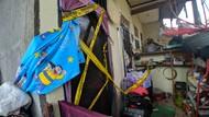 Rumah Sekeluarga yang Tewas Keracunan Asap Genset Digaris Polisi