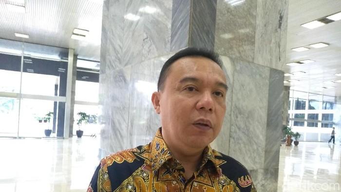 Sufmi Dasco Ahmad (Nur Azizah Rizki Astuti/detikcom)
